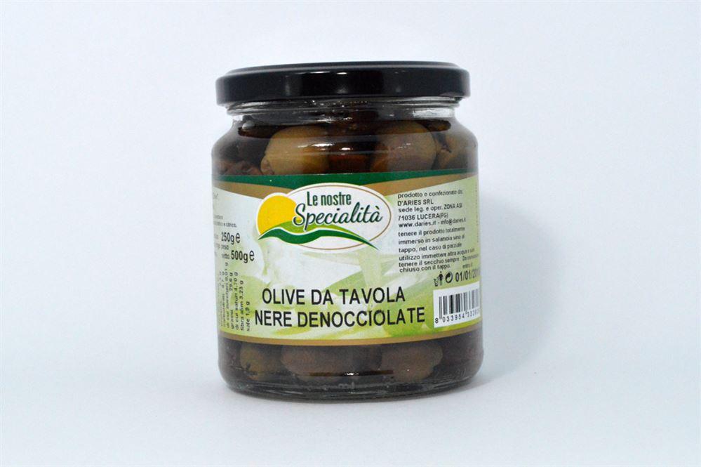 Olive da tavola nera denocciolata azienda agricola biologica conserve alimentari prodotti - Tipi di olive da tavola ...