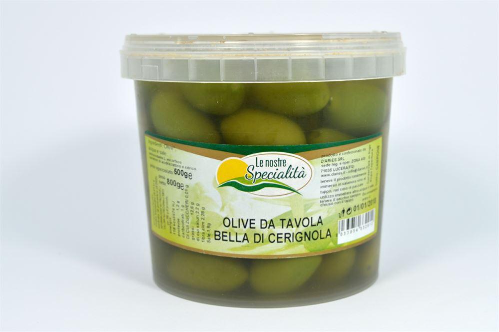 Olive da tavola bella di cerignola azienda agricola biologica conserve alimentari prodotti - Tipi di olive da tavola ...
