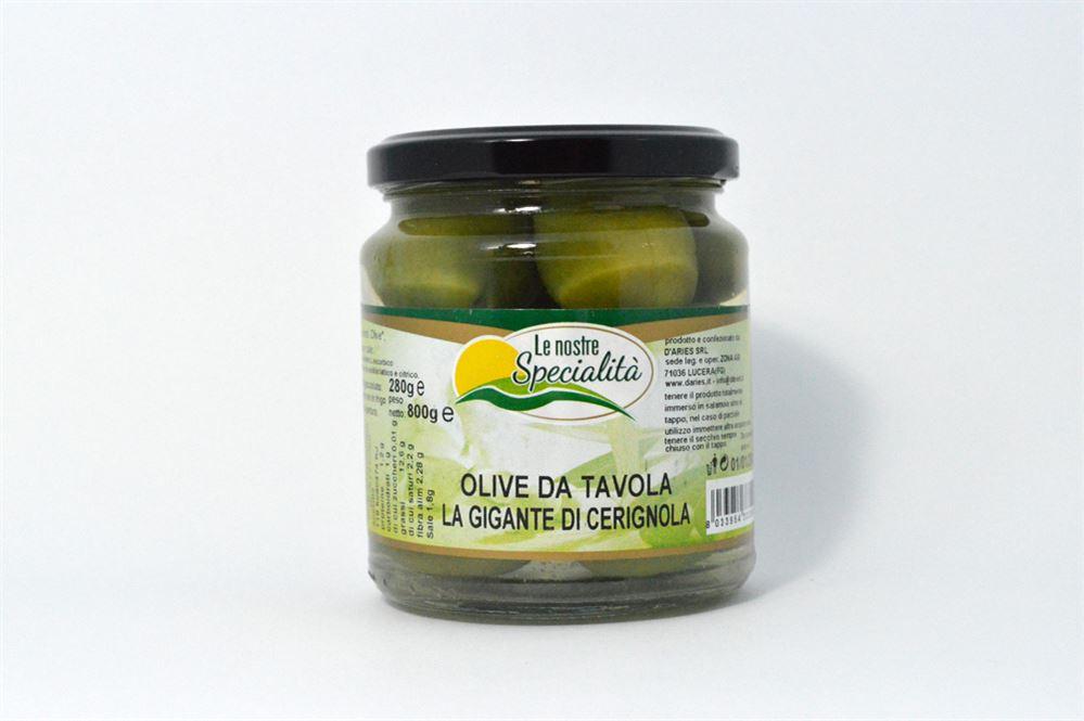 Olive da tavola la gigante di cerignola azienda agricola biologica conserve alimentari - Tipi di olive da tavola ...