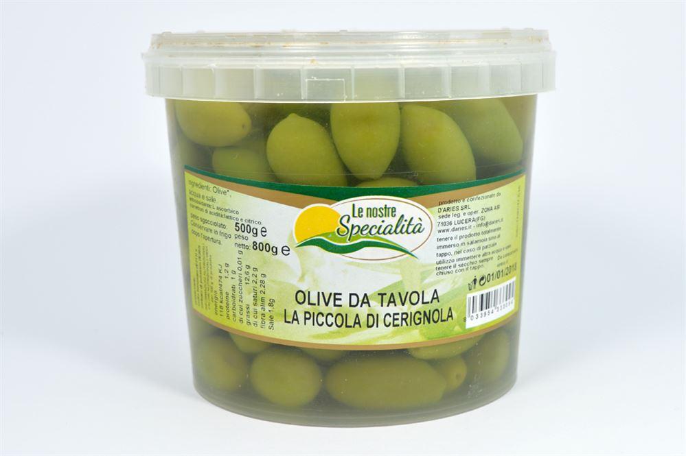 Olive da tavola la piccola di cerignola azienda agricola biologica conserve alimentari - Tipi di olive da tavola ...