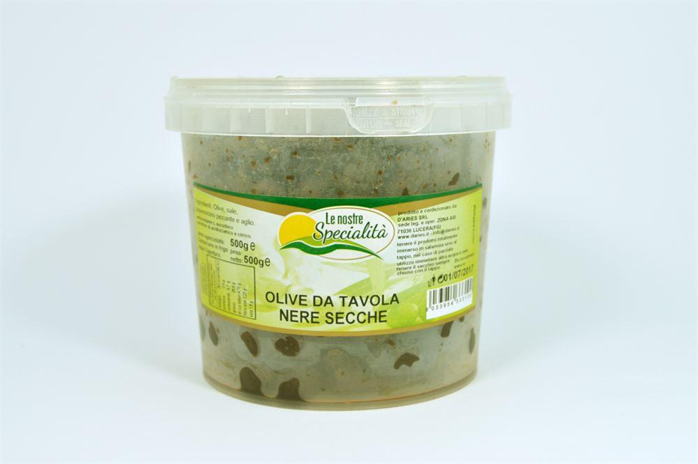Olive da tavola nere secche azienda agricola biologica conserve alimentari prodotti dalla - Tipi di olive da tavola ...